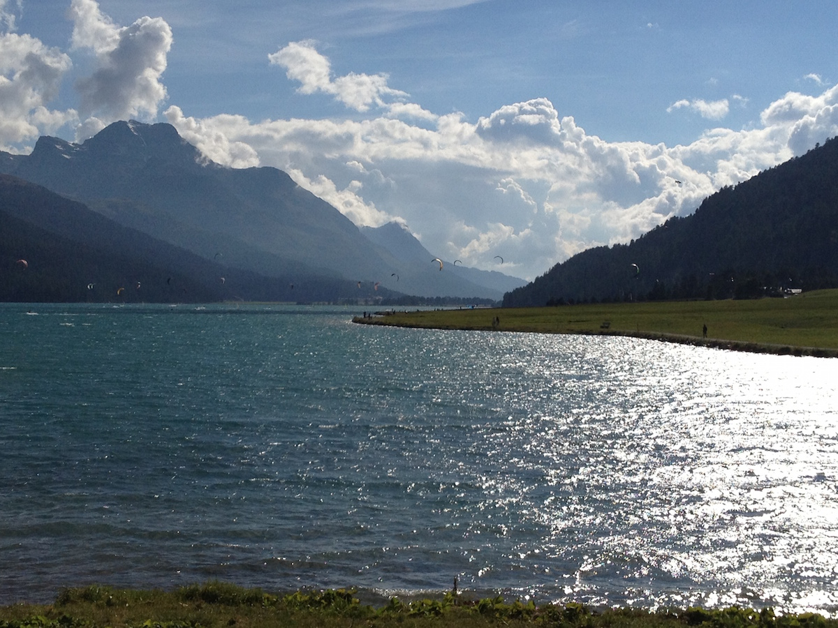 Silvaplanersee Sommer